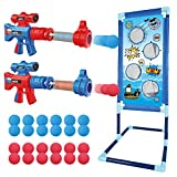 OleFun Shooting Game Toy for Age 5, 6, 7, 8,9,10+ Years Old Kids, Boys - 2 Foam Ball Popper Air Guns...