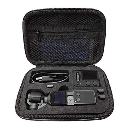 for DJI Osmo Pocket zubehör,Handtasche Tasche für DJI OSMO Pocket Gimbal Kamera Zubehör - Speichern OSMO Pocket Kamera, ND Filters, Mobiltelefonanschluss, Ladekabel und Anderes Zubehör (Schwarz)