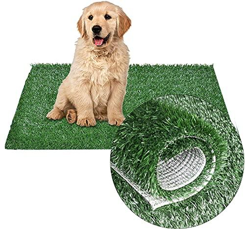 Artificial Pet Pee Grass Mat for Puppy, Pet Turf Fake Grass Replacement Pad...