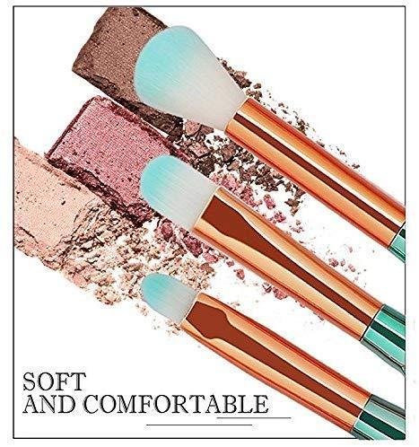 Beauty Shopping Funfunman Makeup Brushes 11PCS Make Up Foundation Eyebrow Eyeliner