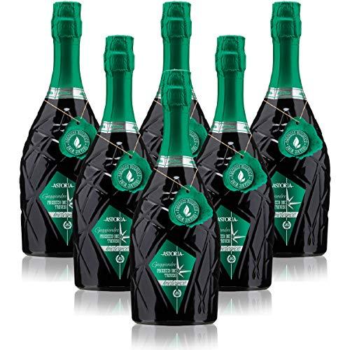 Gaggiandre Prosecco DOC Treviso biologico Astoria Italienischer Sekt (6 flaschen 75 cl.)