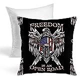 Freedom Hold Almohadas para el hogar, cojín suave para el hogar, sofá, decorativo, almohadones de sujeción para ser escrito, acuarela