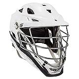 Cascade S Lacrosse Helmet, White, Chrome Facemask