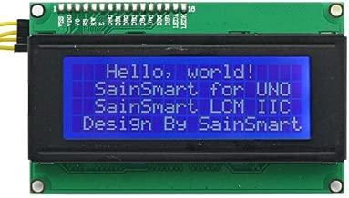 SainSmart LCD Module For Arduino 20 X 4, PCB Board, White On Blue