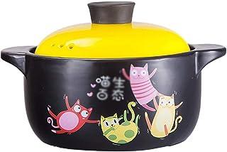 Pot Casserole Household Open Fire Gas Health Soup Pot Ceramic High Temperature Resistant Rice Cooker Pot Cooking Noodle Po...
