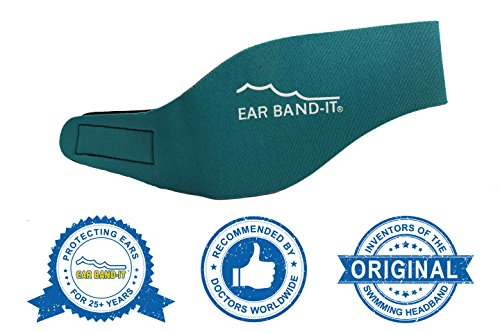 Swim Stop Ear Band-it - Bandas protectoras oídos