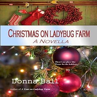 Christmas on Ladybug Farm audiobook cover art