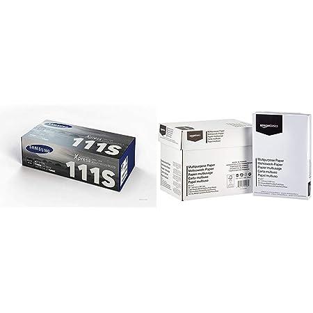 Samsung Mlt D111s Schwarz Original Toner Und Bildtrommel Amazon Basics Druckerpapier 5x500 Blatt Bürobedarf Schreibwaren