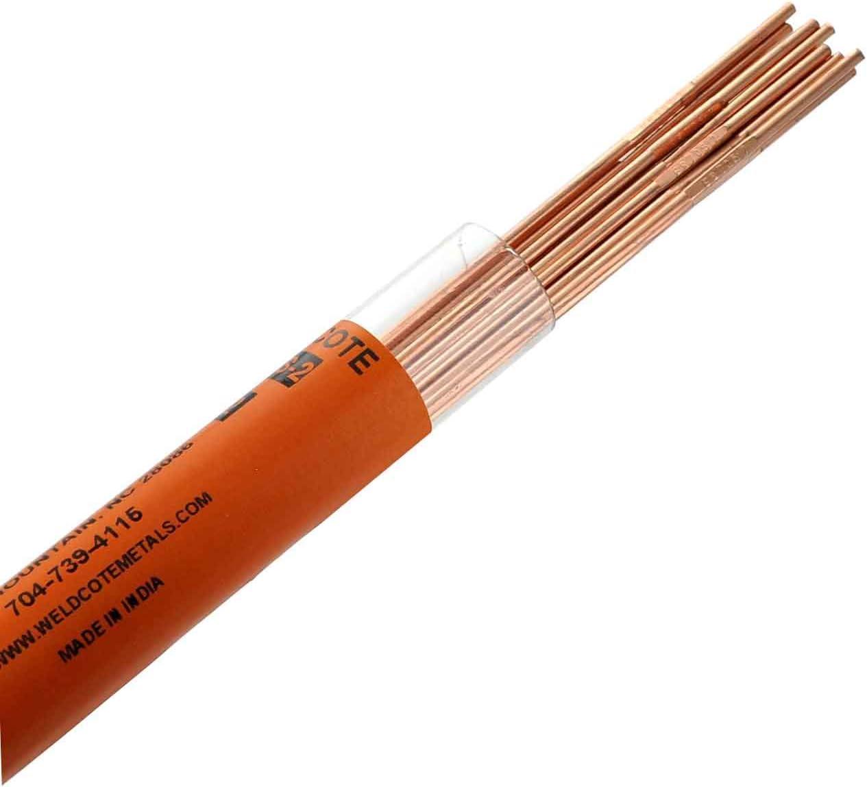 1//8 2LBS ER70S-2 Mild Steel TIG Welding Filler Rod 1//16 3//32 1//8 x 36 2LBS