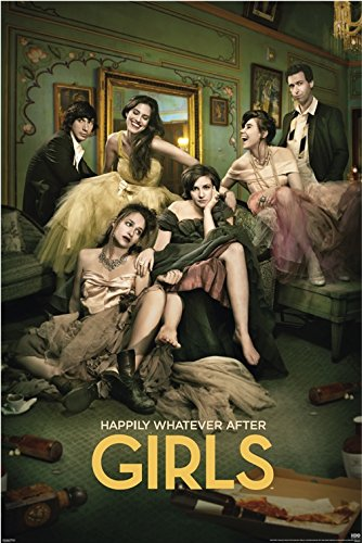 BEYONDTHEWALL Archive Girls Season 3 Happily Whatever HBO Comedy Drama TV Show Print (24x36 Unframed Poster)
