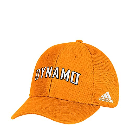adidas MLS Houston Dynamo Herren Mütze, Mesh, strukturiert, verstellbar, Einheitsgröße, Orange