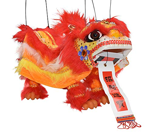 Chinese Marionette Dragon Lion Toy