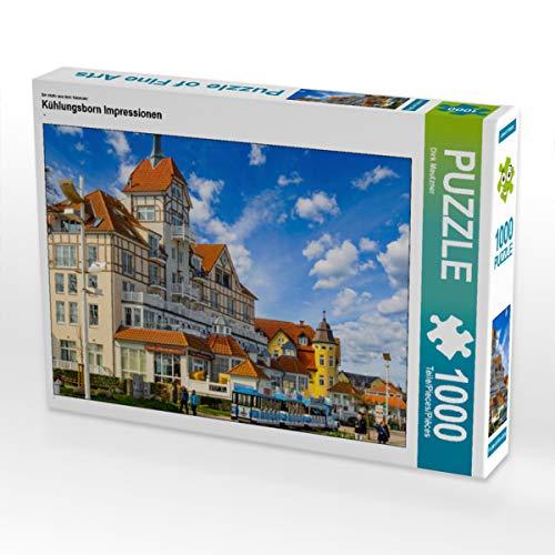 CALVENDO Puzzle Kühlungsborn Impressionen 1000 Teile Lege-Größe 64 x 48 cm Foto-Puzzle Bild von Dirk Meutzner
