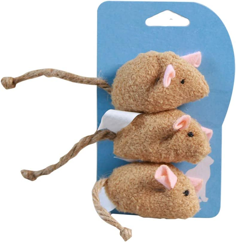 New OFFicial mail order life Cat Toys Mouse Animal Stuffed A Plush