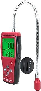 HJJ Detector de Gas Explosivo portátil Recargable, Sensor de metano de propano Combustible con Alarma de Advertencia de So...