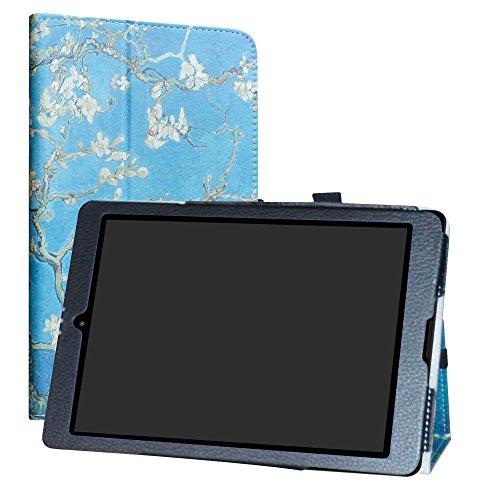 LiuShan Medion Lifetab P9701 P9702 hülle, Folding PU Leder Tasche Hülle Case mit Ständer für 9.7
