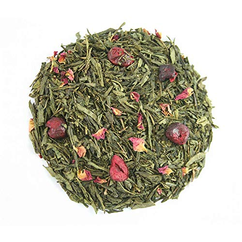 KYOTO Gourmet 250gr. Té verde sencha, cereza, rosa, aroma.
