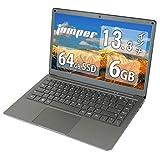 Jumper EZbook X3 13.3インチ 【高効率パワー Win10搭載】ノートパソコン インテル Apollo Lake N3350 高速サーフィン 6GB RAM 64GB ROM IPS FHD 1920*1080高解像度 ノートPC