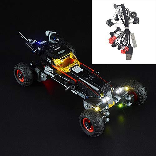 Iluminación LED, Conveniente para Batman Chariot Modelo, Compatible con Lego 70905 (Sólo de iluminación, no Incluyendo Este Model)