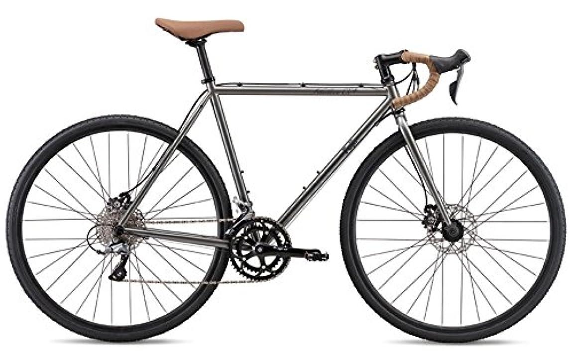 暗殺理想的には人種FUJI(フジ) FEATHER CX+ 2x8段変速 ディスクブレーキ ロードバイク 19FEACGY54 SLATE 54cm