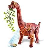 TOEY PLAY Dinosaurios Braquiosaurio Juguetes Figura Animals Proyección Poner Dinosaurio Huevo Luz y Sonido Juguete Educativo 3 4 5 Años Niños Niñas