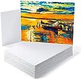 """GC Pannelli in tela - 20 x 25 cm (8 x 10"""") Pannelli in tela di cotone innescata -Confezione da 14 pannelli - per acrilico, pittura a olio GC-CB810"""