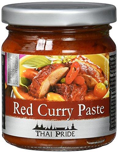 Thai Pride Currypaste, rot (1 x 195 g)