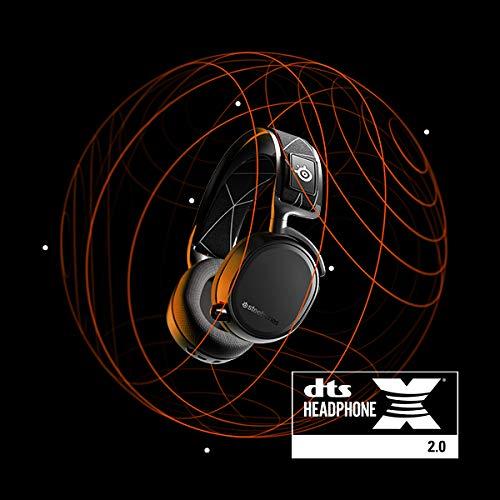 SteelSeries Arctis 9 - Dual-kabelloses Gaming-Headset - Verlustfreies 2,4 GHz Wireless + Bluetooth - Über 20 Stunden Akkulaufzeit - Für PC, Playstation 5 und PlayStation 4
