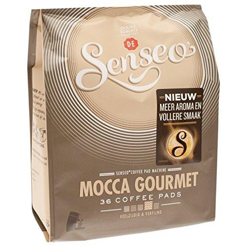 Senseo Kaffeepads Mocca Gourmet, Frisch & Intensiv, Kaffee für Kaffeepadmaschinen, 36 Pads