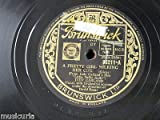 78rpm JUDY GARLAND a pretty girl milking her cow / its a great day for the irish