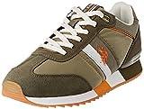 US Polo Association Men's Austen Gymnastics Shoes, Brown (Kak 014), 7 UK
