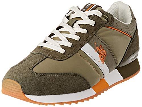 U.S. POLO ASSN. Austen, Sneaker Uomo, Marrone (Kak 014), 42 EU