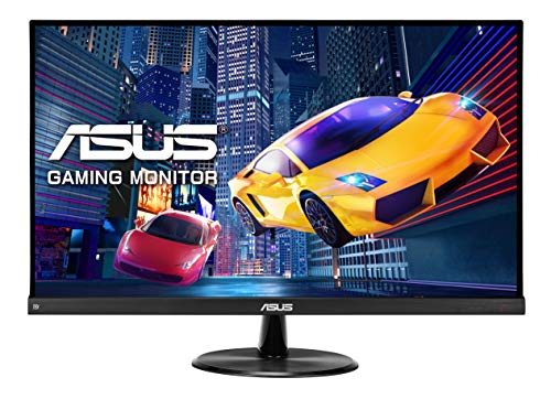 ASUS VP249QGR 60,5 cm (23,8 Zoll) Gaming Monitor (Full HD, 1ms Reaktionszeit, FreeSync, VGA, HDMI, DisplayPort) schwarz
