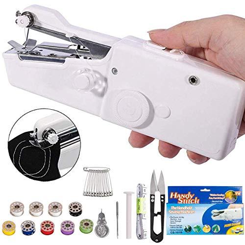Handheld Sewing Machine - Mini Cordless Portable Electric Sewing Machine - Home...