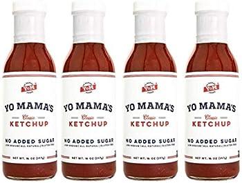4-Pack Yo Mama's Foods Keto Classic Ketchup