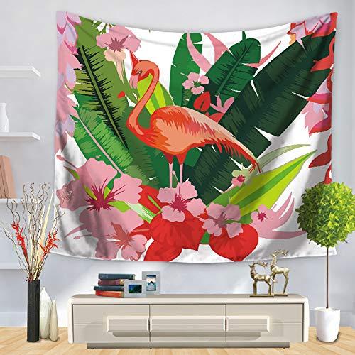 jzxjzx De dierenveren van de Flamingos van de kussens Hanno Print de decoratie van de wandafbeelding