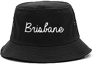 FASHIONISGREAT Brisbane Australia Script Chest Bucket Hat