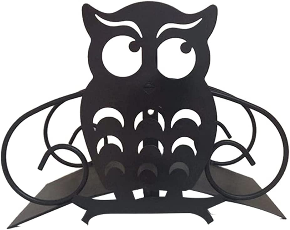 RTUGOVT Cartoon Owl 40% OFF Cheap Sale Metal Garden Holder Decorative H Hose Water Special price