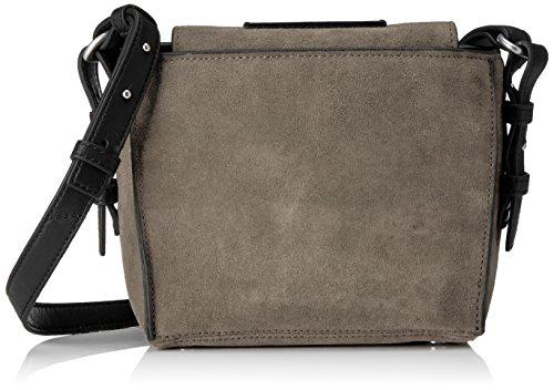 Marc O'Polo Damen Thirtysix Umhängetasche, Grau (Grey), 13x20x23 cm