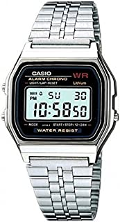 Casio Casual Watch Digital Display Quartz for Men A-159WA-N1