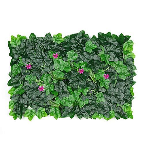 FengHuiHome künstliche Pflanze Pflanze künstlich sichtschutz efeu zaunsichtschutz grün sichtschutz-hecke