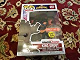 Funko - Marvel-Contest of Champions-King Groot (Glows in The Dark), Figura Multicolor, 26845...