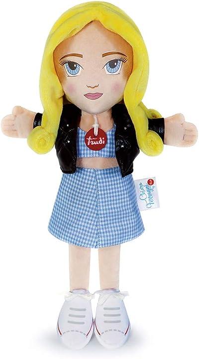 Bambola chiara ferragni trudi- limited edition doll chiara ferragni bambola, altezza: 34 cm, 69061
