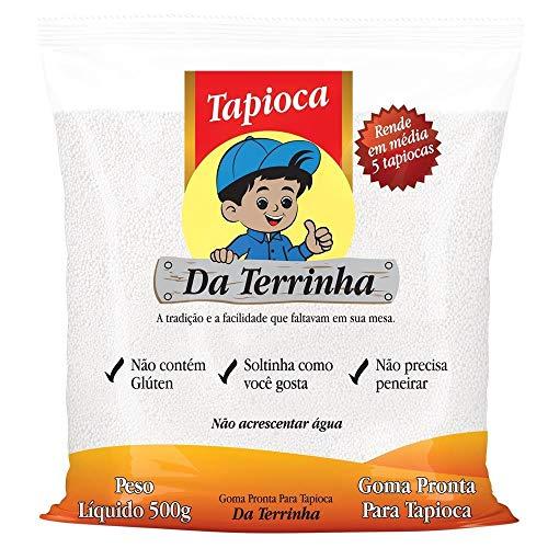 Da terrinha Tapioca Harina 17.6oz | goma Pronta para Tapioca 500 g