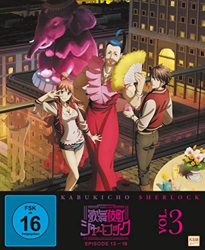 Kabukicho Sherlock - Volume 3 (Ep. 13-18) [Blu-ray]