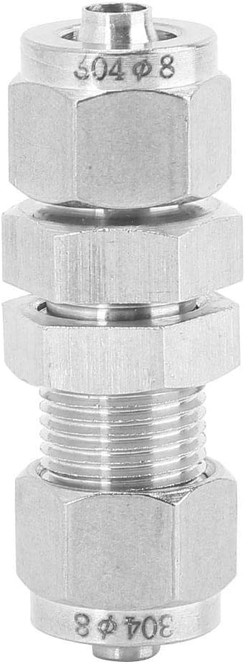 Under blast sales Max 64% OFF 304 Stainless Steel Two-Touch Air P Fittings Tool Hose Partition