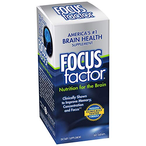 Focus Factor Brain Support, Tablets 60 Ea (2 Pack)