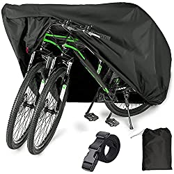 top rated EUGO Bicycle Cover for 2 or 3 Bicycles Outdoor Waterproof Bicycle Cover XLXXL Oxford… 2021