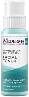 Mederma AG Facial Toner – with glycolic acid to cleanse pores for a smooth, healthy complexion - eucalyptus for a cooling ...