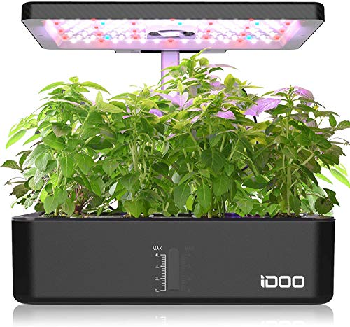 iDOO Indoor Herb Garden Kit, Hyd...